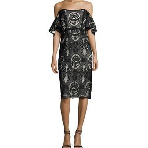 Mestiza Black Lace Dress